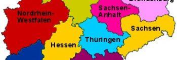DDR deelstaten in ere hersteld