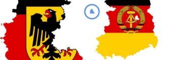 Hereniging West- en Oost-Duitsland en de formele ontbinding van de DDR.