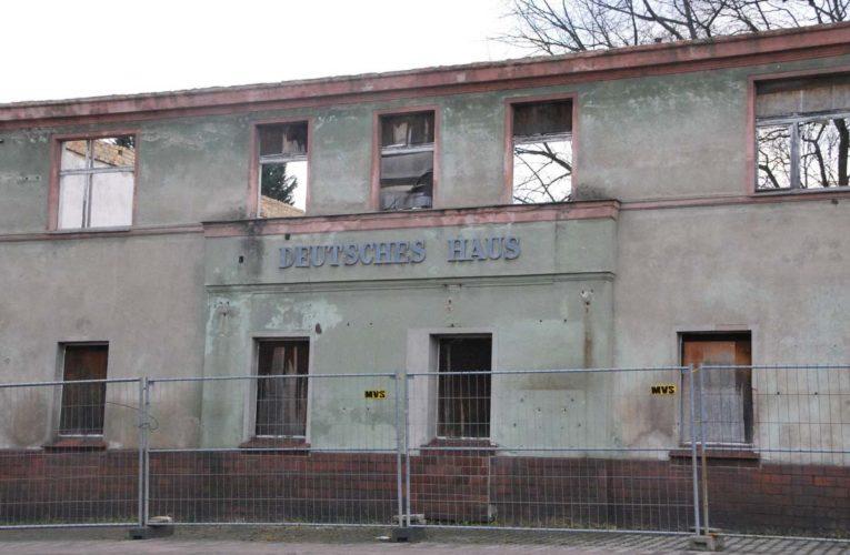 Deutsches Haus in Krauschwitz wordt gesloopt