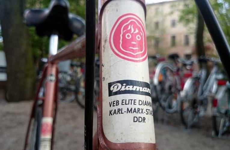 Diamant fietsen vindt oorsprong in de DDR