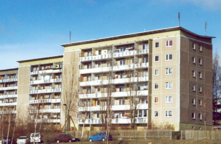 Plattenbau is paradepaardje Erich Honecker