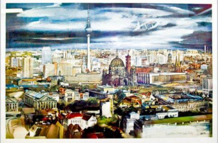 Walter Womacka maakte veel kunst in Oost-Berlijn