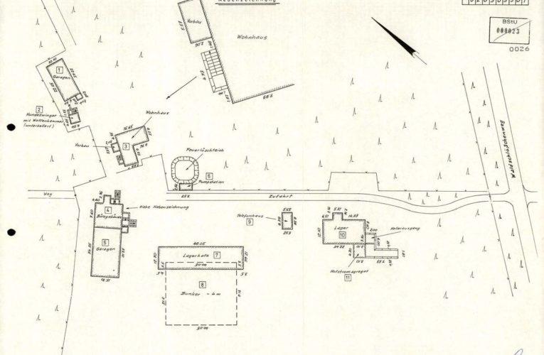Een Stasi-bunker als zijnde een 'boskasteel'