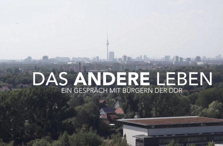 Das andere Leben brengt gesprekken met DDR-burgers in beeld