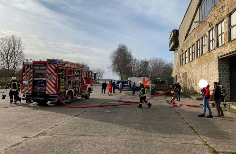 Grote schade na brand in DDR Militairmuseum