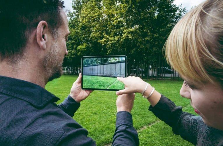 Handige app laat Berlijn zien voor de val van de Muur