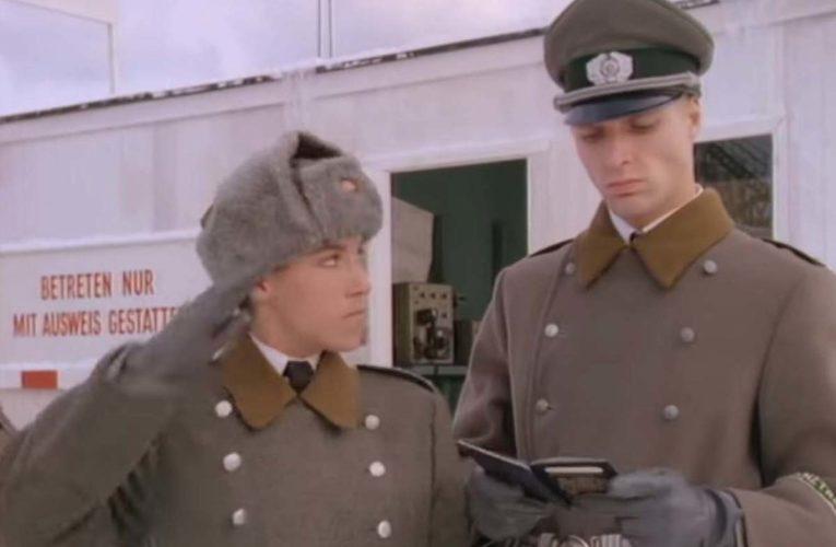 Peperdure videoclip aan de Berlijnse Muur