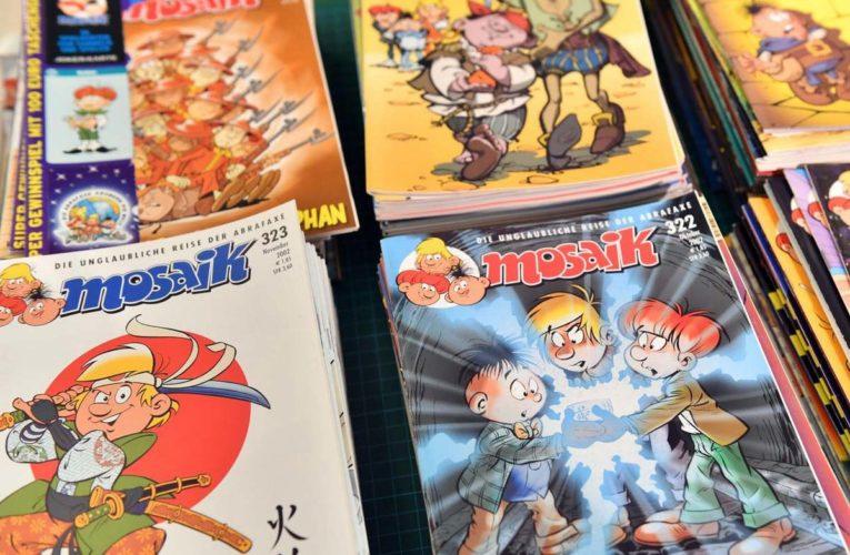 Atze en Mosaik eerste striphelden in de DDR