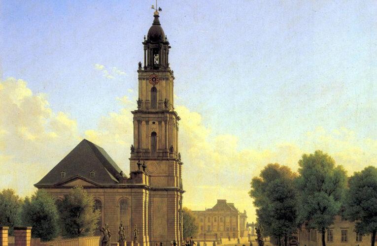 Herbouw Garnisonkirche Potsdam moet volgend jaar zijn afgerond