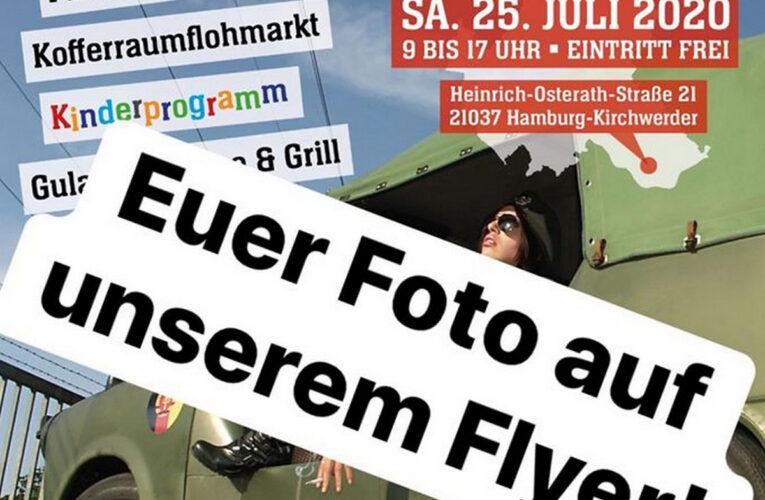 Organisatie 'Checkpoint Hamburg' zoekt originele foto