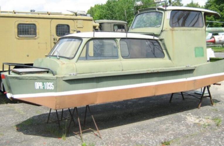 Een Trabant als boot bestond ècht!