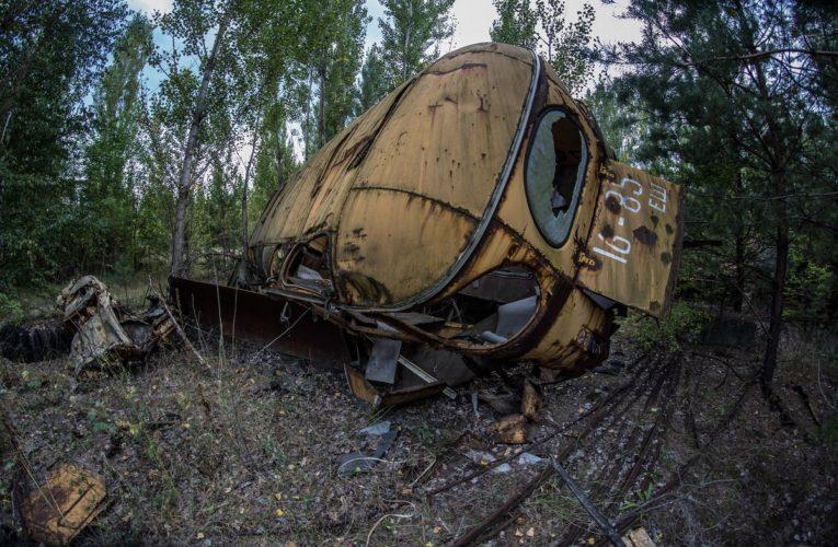 Oekraïne bestrijdt bosbrand in verboden zone van Tsjernobyl