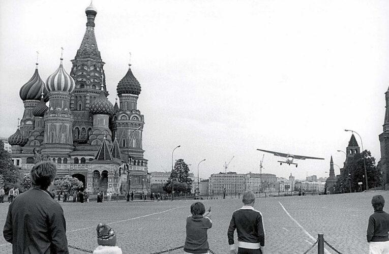 Activist Mathias Rust werd in 1987 even wereldberoemd