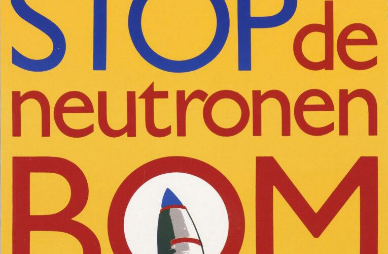 Comité Stop de Neutronenbom werd financieel vanuit de DDR gesteund