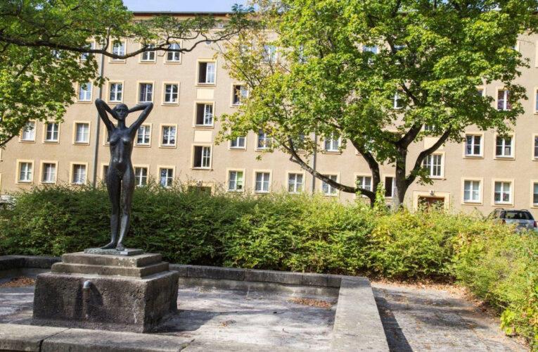Eisenhüttenstadt laat zien hoe de DDR zich een socialistische stad had voorgesteld