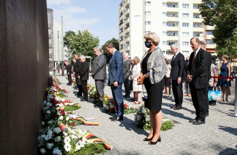 Slachtoffers Berlijnse Muur herdacht