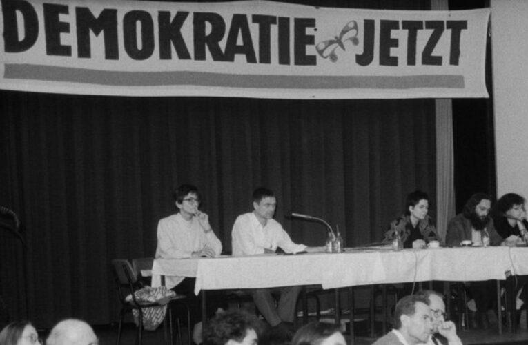 Burgerrechtenbeweging 'Demokratie Jetzt!' ging voor een solidaire DDR