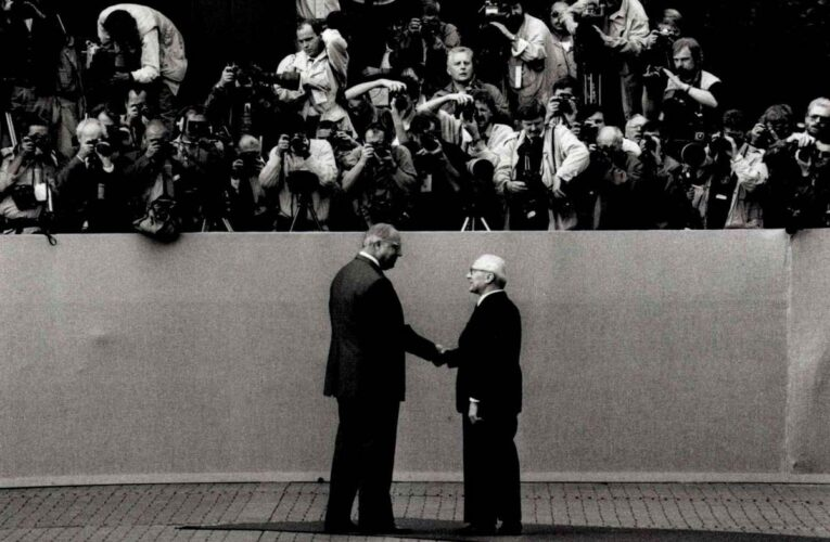 Erich Honecker's eerste en enige officiële staatsbezoek aan de BRD