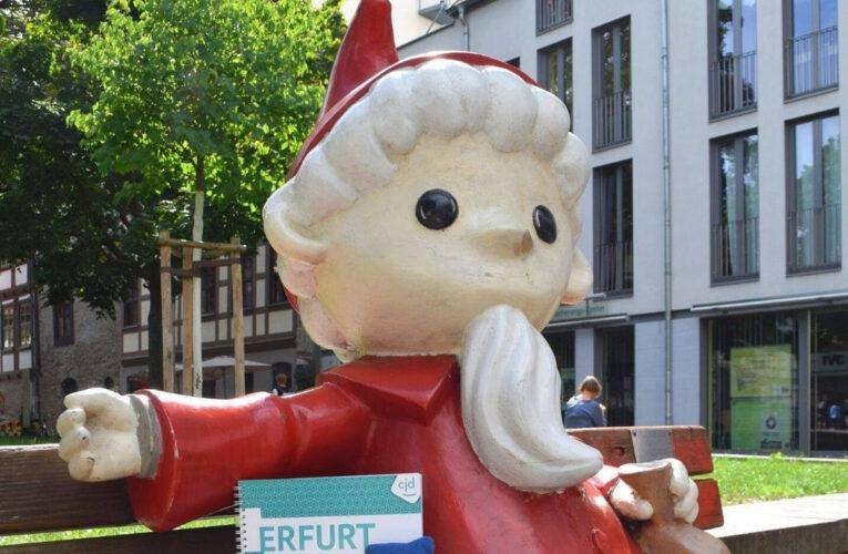 Sandmännchen-beeld in Erfurt vernield