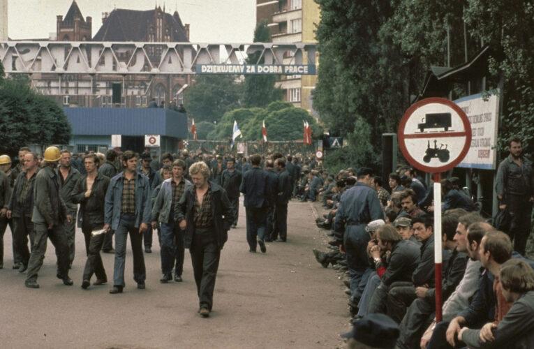 Solidarność zorgde vanuit Polen voor de Val van de Muur