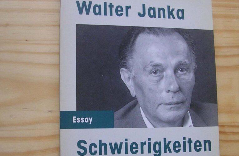 Walter Janka had 'Problemen met de waarheid'