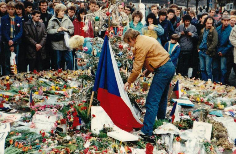 Tsjecho-Slowakije kende een Fluwelen Revolutie