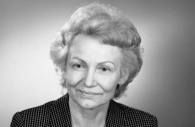 Enige vrouwelijke minister in de DDR: Margot Honecker
