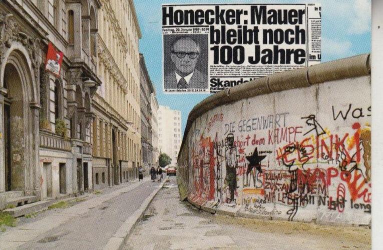 30 jaar zonder Muur: Dit was de geheime boodschap van Erich Honecker aan Michail Gorbatsjov
